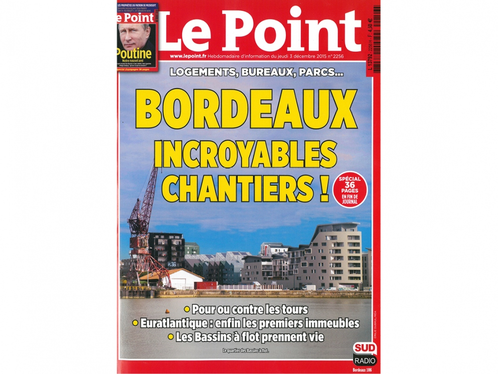 LE POINT n°2256 | Bord'ha, habitat participatif