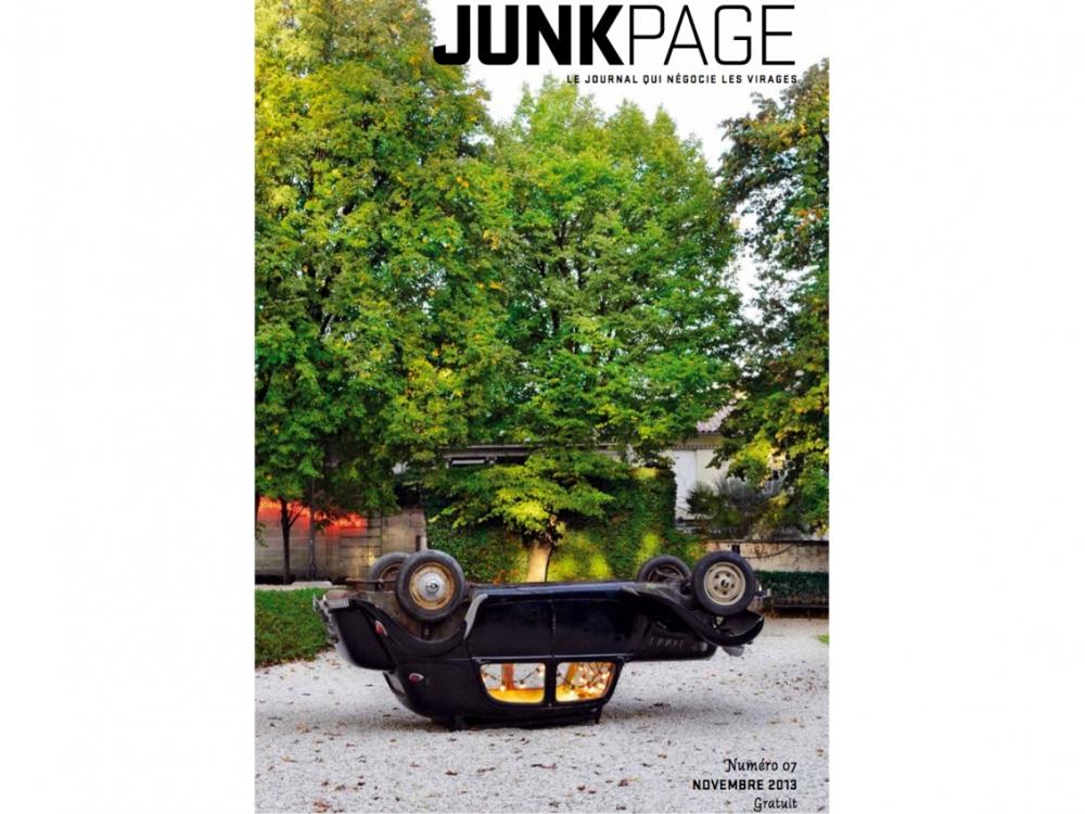 JUNKPAGE n°7 2013 | Appartement damier