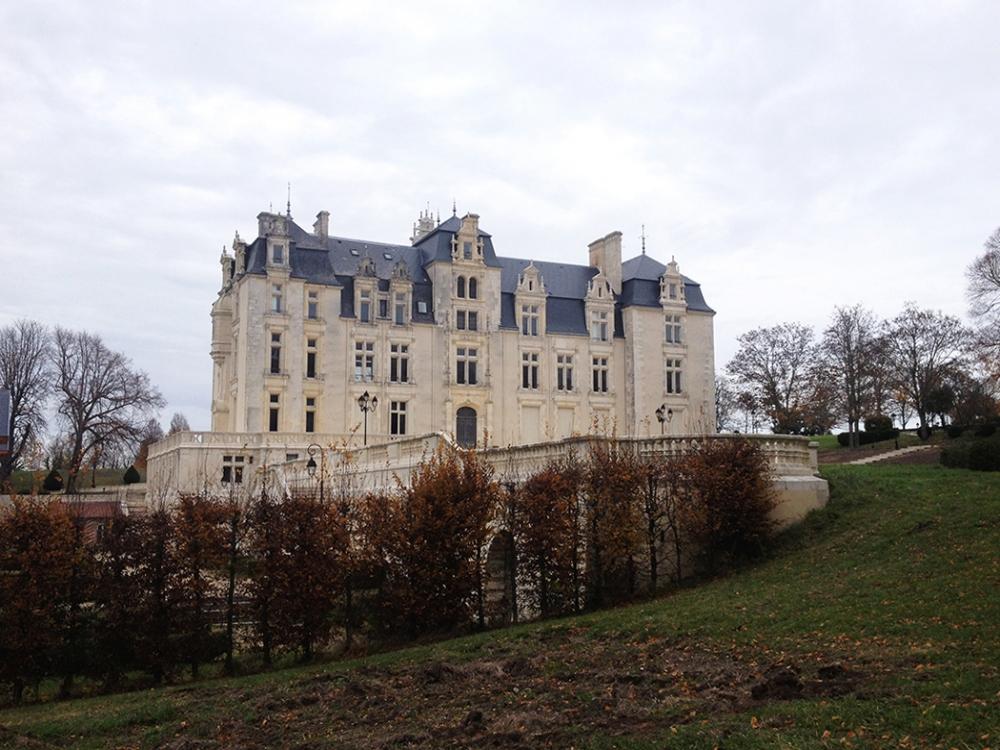 Château brûlé