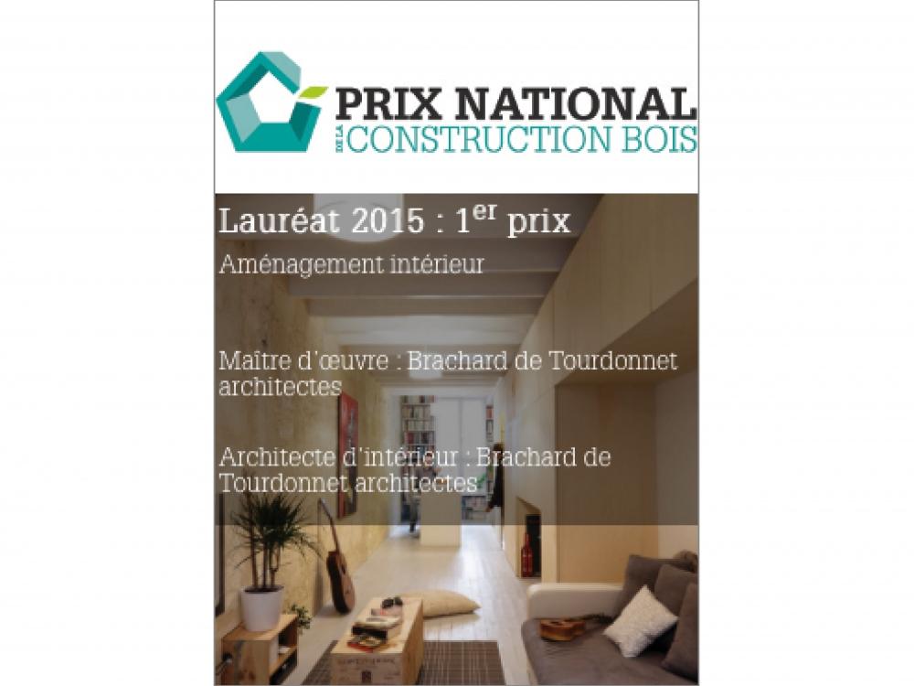 PRIX NATIONAL CONSTRUCTION BOIS | Maison étroite
