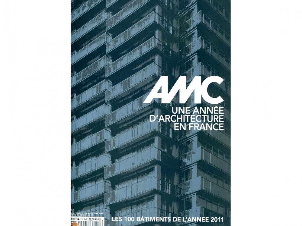 AMC 2011 les 100 bâtiments de l'année  | Maison du Rond Point