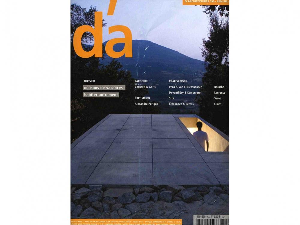 D'A n°156 2006 | Maison du Lac
