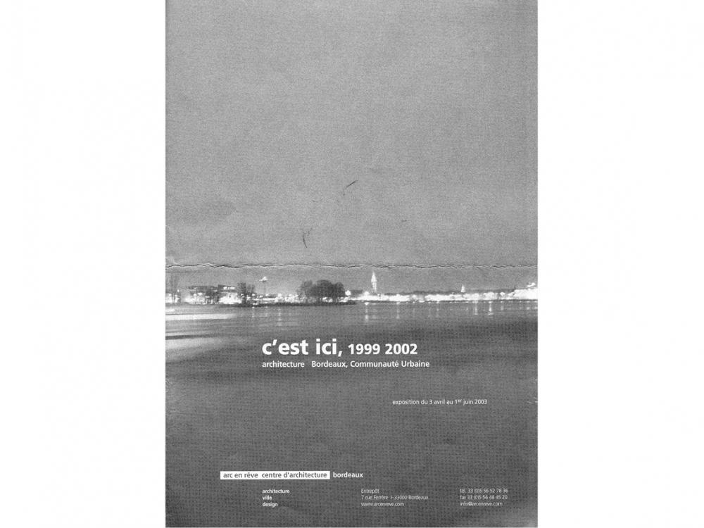 C'est ici, exposition juin 2003 | Loft St François