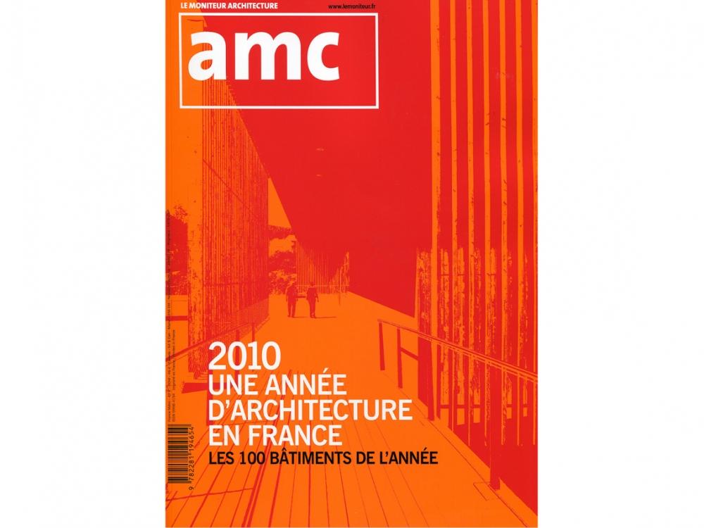 AMC 2010 les 100 bâtiments de l'année  | Maison à Tresses